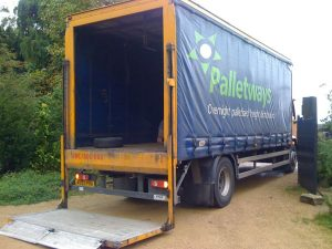 Nationwide pallet salt deliveries