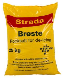 25kg White De-Icing Salt